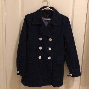J Crew 100% cotton trench coat size 6